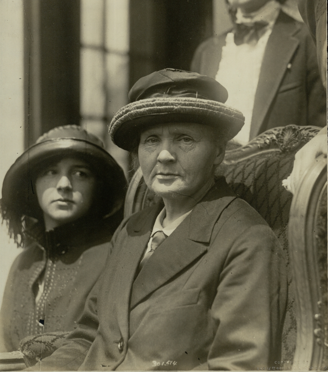 Marie Curie, Visit to America 1921