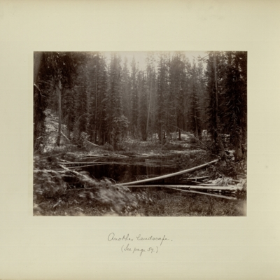 [After the snow, night of September 7, near the top of Continental Divide] : another landscape