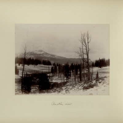 [After light snow, Continental Divide] : another view