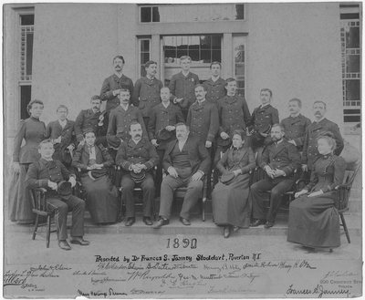 Resident Physicians 1890