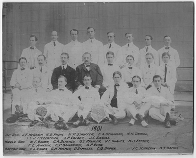 Resident Physicians 1901