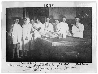 Resident Physicians 1889