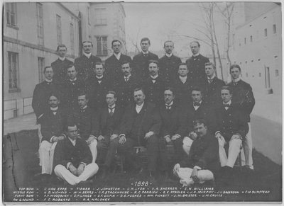 Resident Physicians 1898