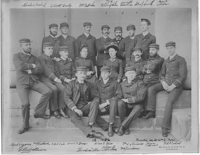 Resident Physicians 1886