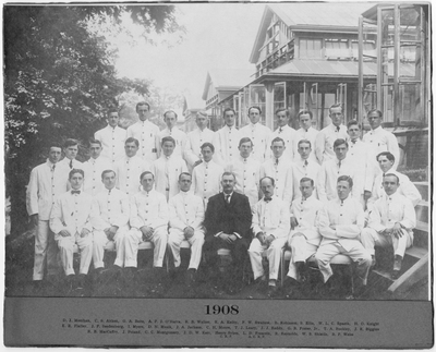 Resident Physicians 1908