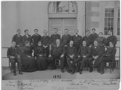 Resident Physicians 1895