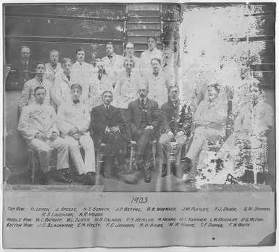 Resident Physicians 1903
