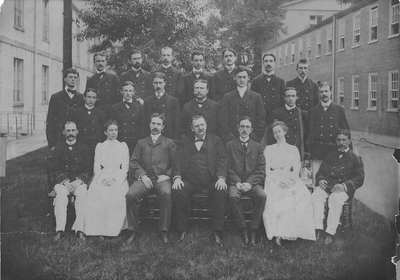 Resident Physicians 1900