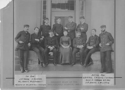 Resident Physicians 1884