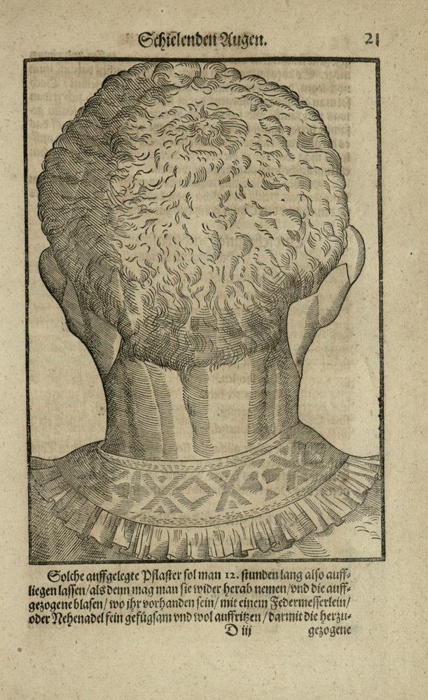 Woodcut from [Ophthalmodouleia], das ist Augendienst [21r]