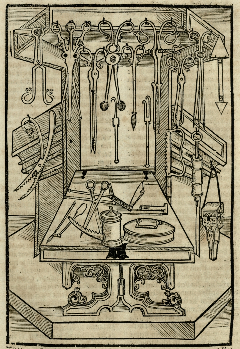 Surgical instruments and apparatus