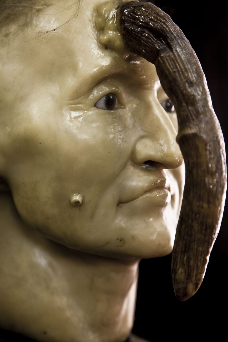 Wax model of Madame Dimanche