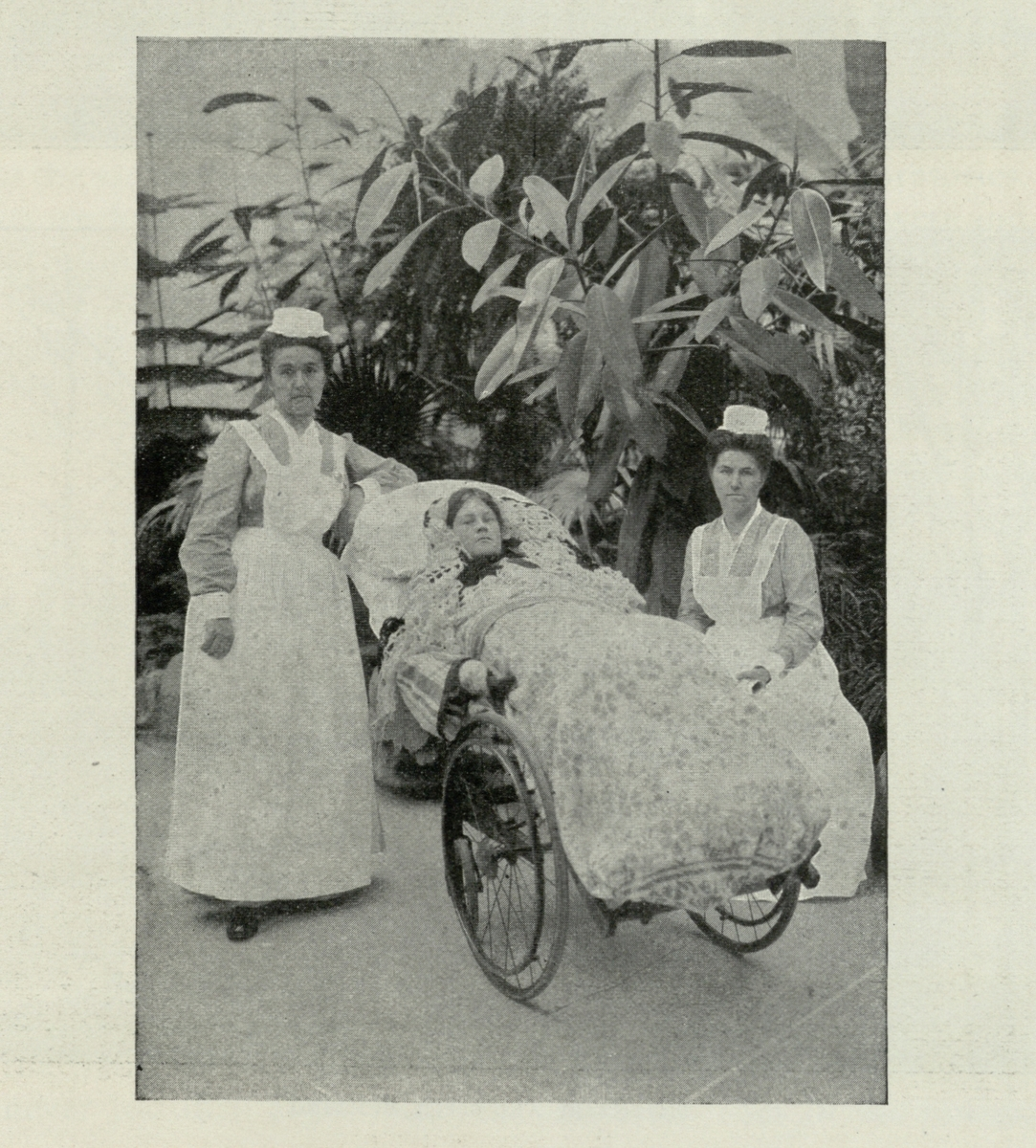 [Attendants and a Patient]