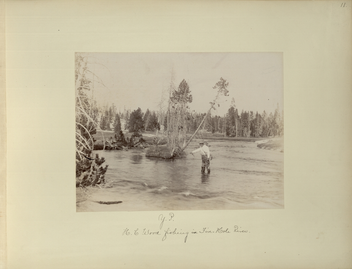 Y.P. : H.C. Wood fishing in Five-Hole River