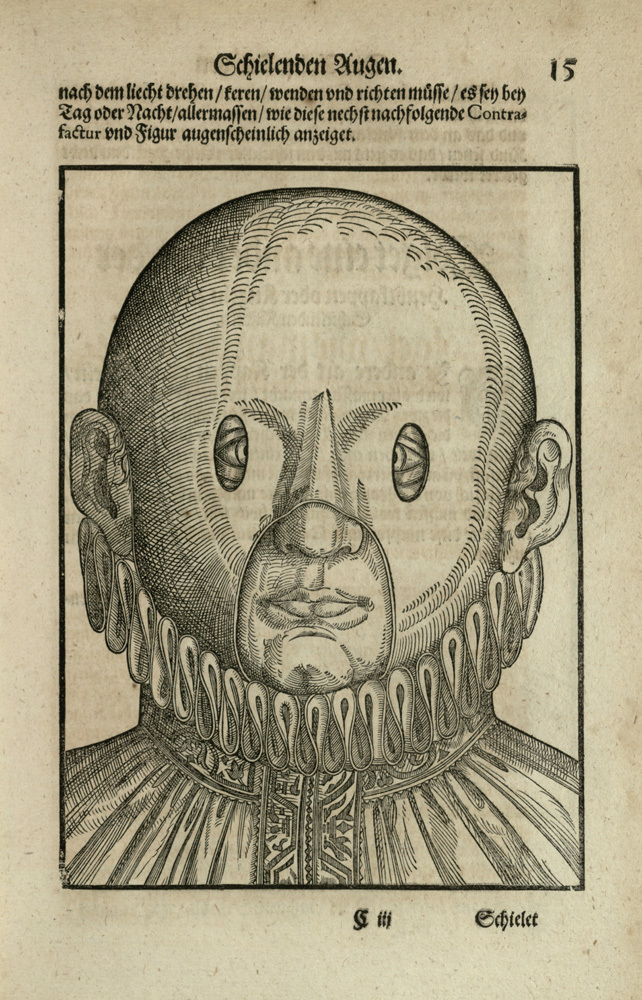 Woodcut from [Ophthalmodouleia], das ist Augendienst [15r]