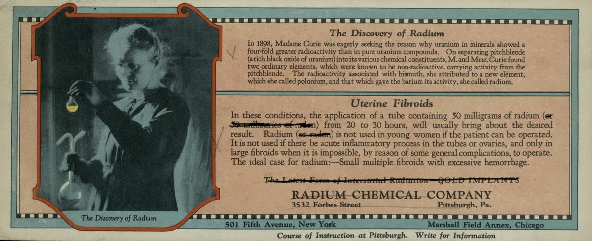 The Discovery of Radium