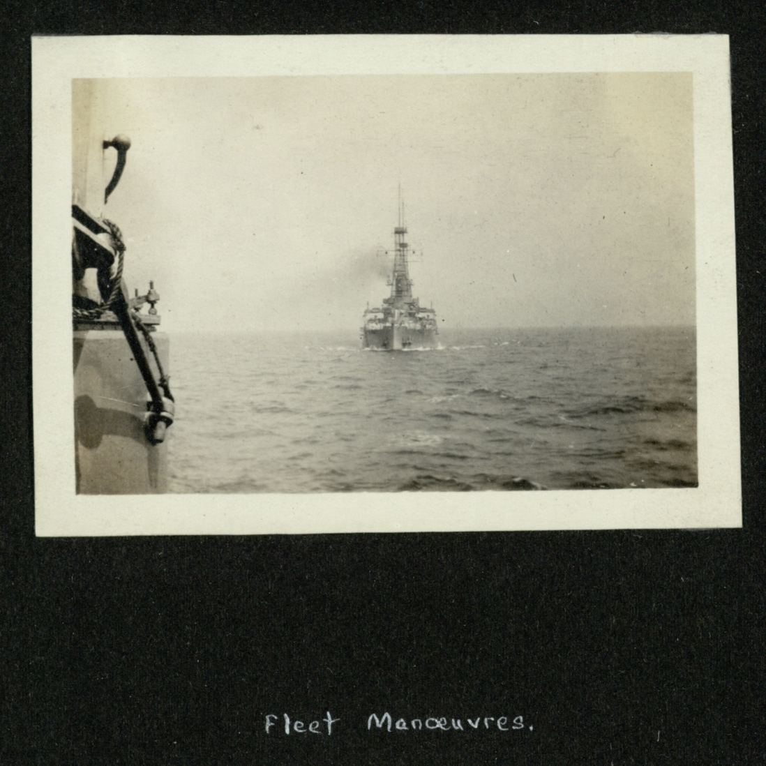Fleet Manoeuvres. [Image 1]