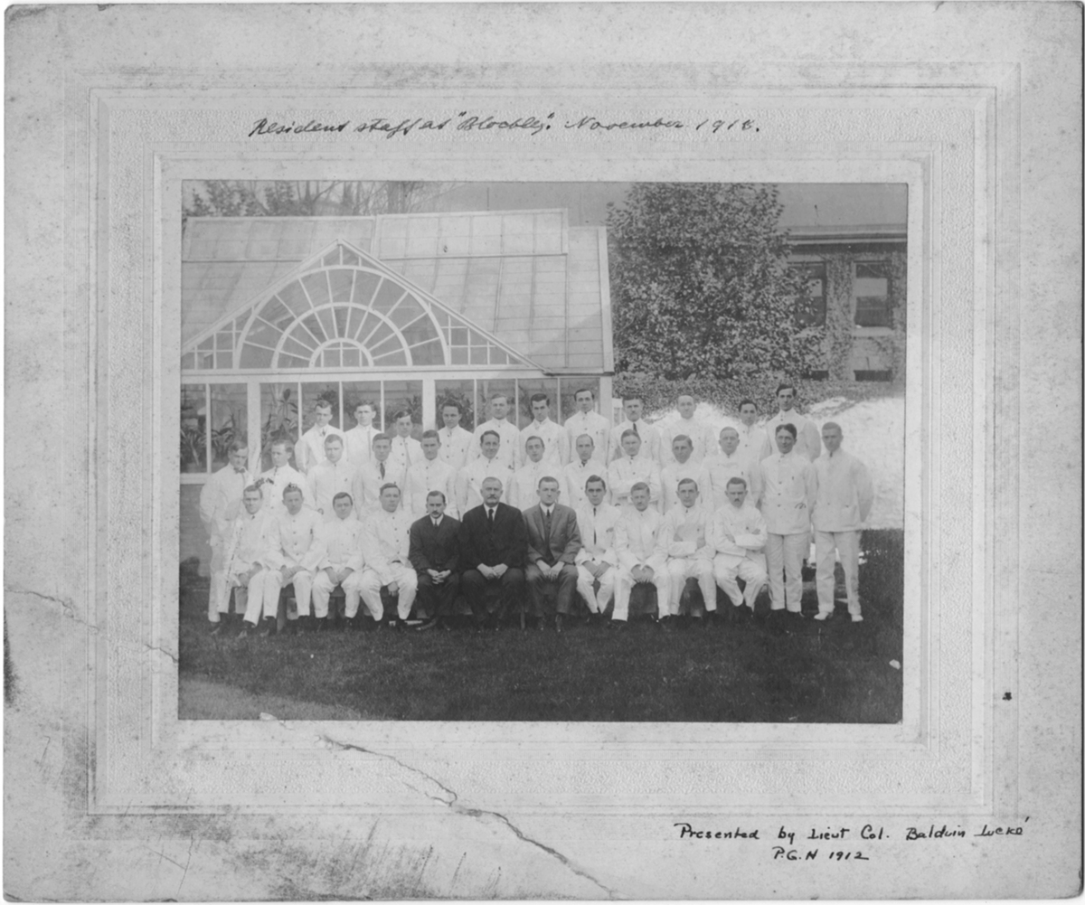 Resident Physicians 1913