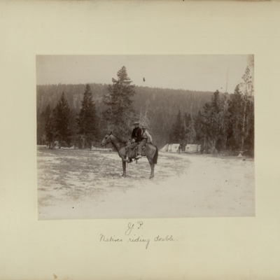 Y.P. : natives riding double