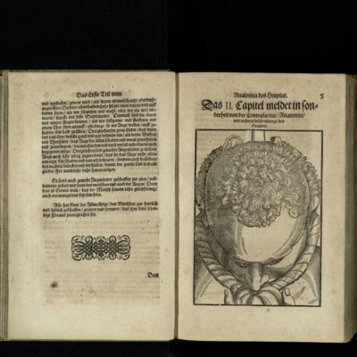 Woodcut with overlayed flaps from [Ophthalmodouleia], das ist Augendienst [5r]