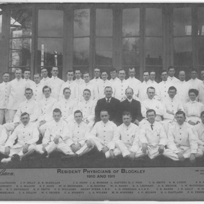 Resident Physicians ca. 1910