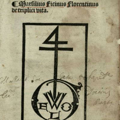 Printer's mark of Georges Wolf