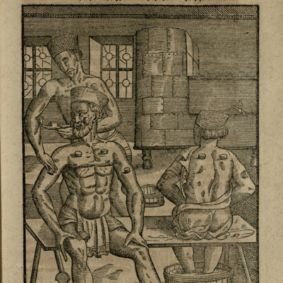 Woodcut from [Ophthalmodouleia], das ist Augendienst [250r]