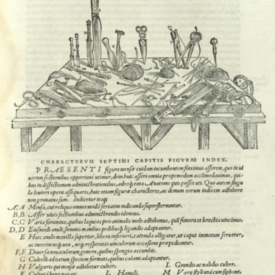 Anatomicorum instrumentorum delineatio