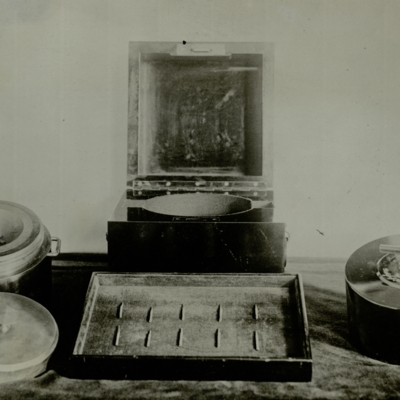 Radium gift to Marie Curie