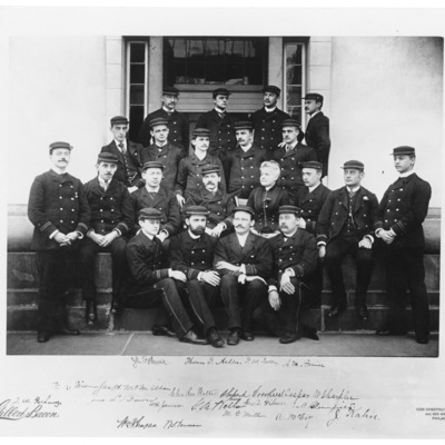 Resident Physicians 1888