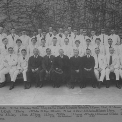 Resident Physicians ca. 1917