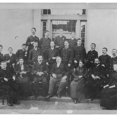 Resident Physicians ca. 1889