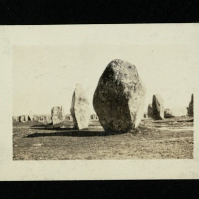 """Menhirs"" and ""Dolmens"". [Image 3]"