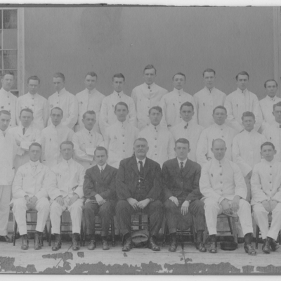Resident Physicians ca. 1912
