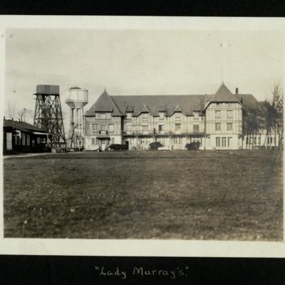 """Lady Murray's""."