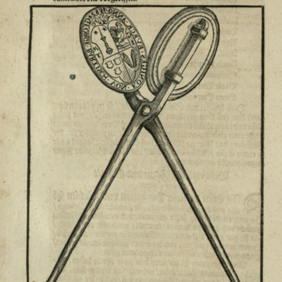 Woodcut from [Ophthalmodouleia], das ist Augendienst [18v]