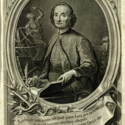 Portrait of Giovanni Maria Lancisi