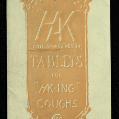 "Tablets for ""HK-ing"" Coughs"