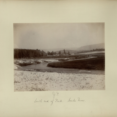 Y.P. : south end of park, Snake River
